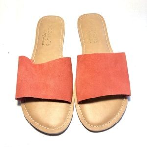 Coconuts by Matisse Suede Slides Sandals